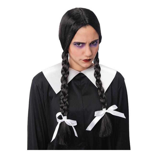 Addams Family Wednesday pruik