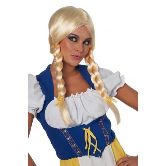 Beieren damespruik blond