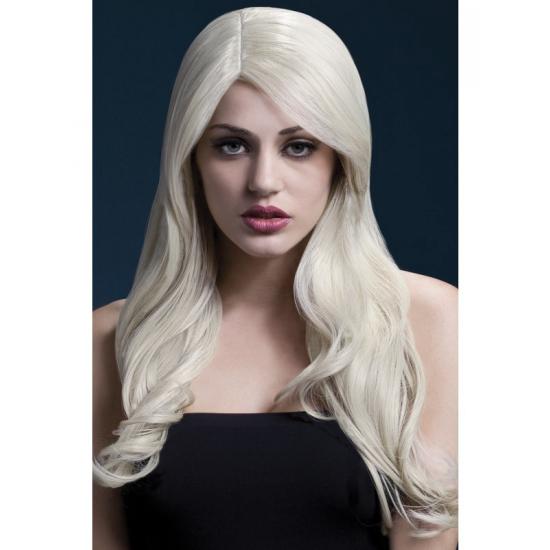 Blonde pruik om zelf te stylen