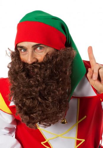 Bruine baard met elastiek