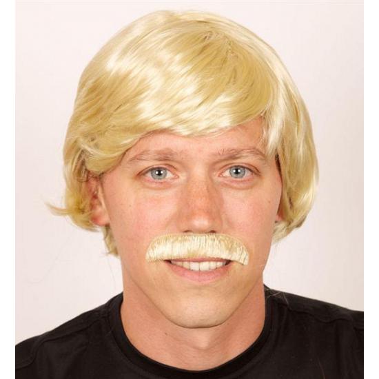 Duitse herenpruik blond