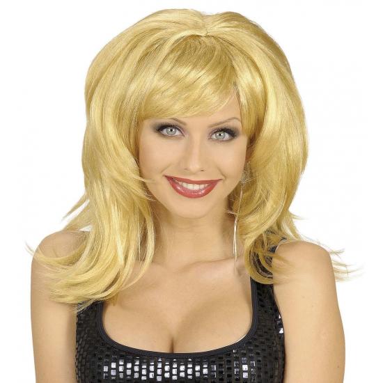 Flirty dames pruik blond