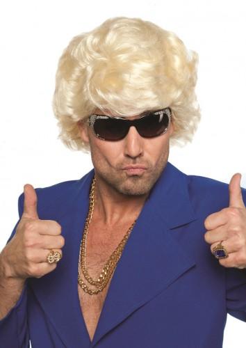 Golddigger pruik blond