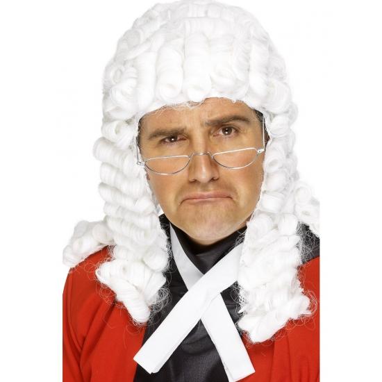 Rechters pruik wit