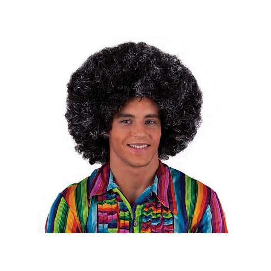 Seventies afro pruik
