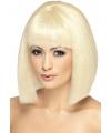Korte blonde damespruik eva