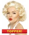 Voordelige marilyn monroe pruik blond
